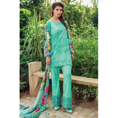 MWU01854 PRINT A DIGITAL PRINTED LAWN UNSTITCHED