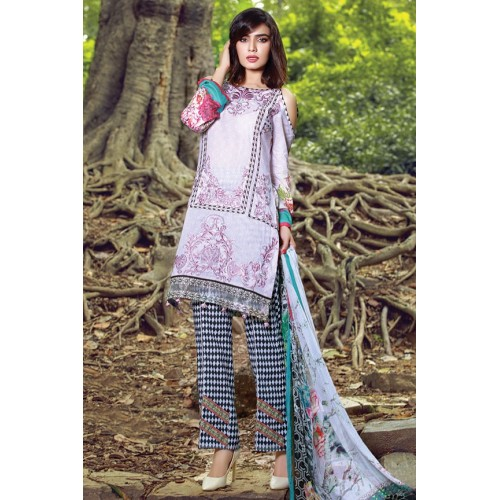 MWU01855 PRINT A DIGITAL PRINTED LAWN UNSTITCHED