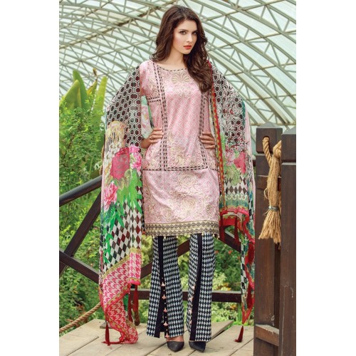 MWU01855 PRINT B DIGITAL PRINTED LAWN UNSTITCHED