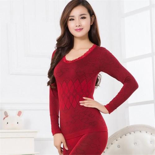 COCKCON Women winter warm thermal underwear women long johns long sleeve thermal clothing Underwears Sets women