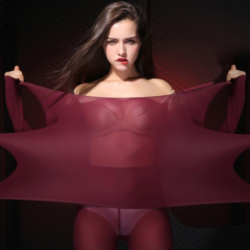 Women Slimming Thermal Underwear Ultrathin Heat Long Johns Super Elastic