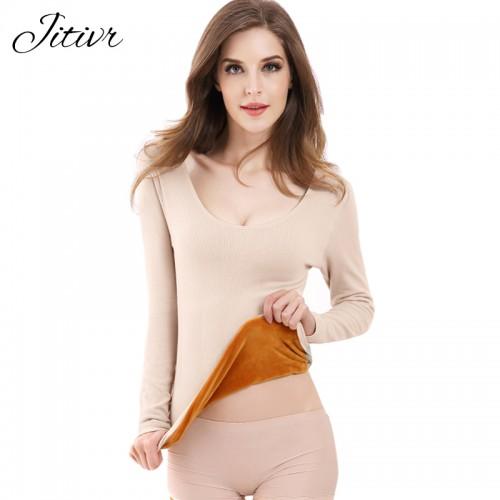 Women Thick Winter Long Johns Plus Size Winter Underwear