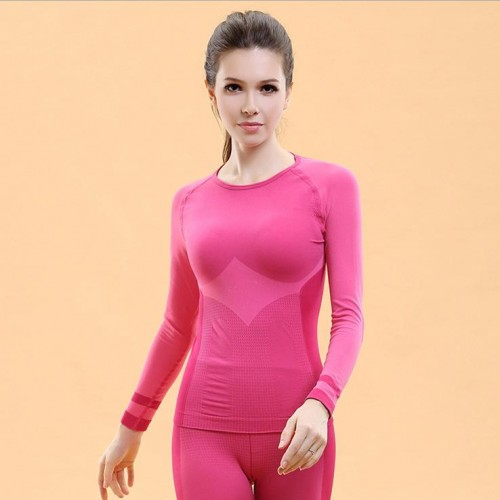 Women Winter Thermal Underwear Female Clothing Quick Dry Breathable Warm High Quality Casual Fitness