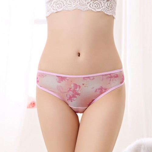 Women Floral  Lace G string  Underwear (3)