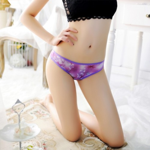 Women Floral  Lace G string  Underwear (5)