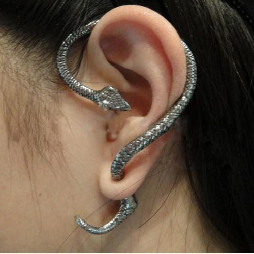 Summer Style Snake Cat Ear Cuff Earrings Punk Earings Clip On Earrings Ear Cuffs For Women