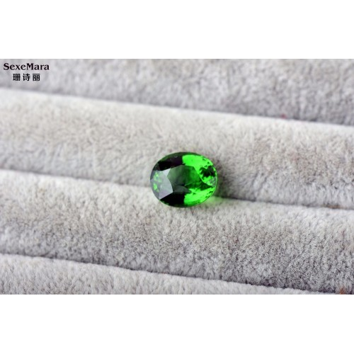 6 0 ct Natural complete pure chromium tourmaline ring surface Color beauty 6 0 ct Perfect