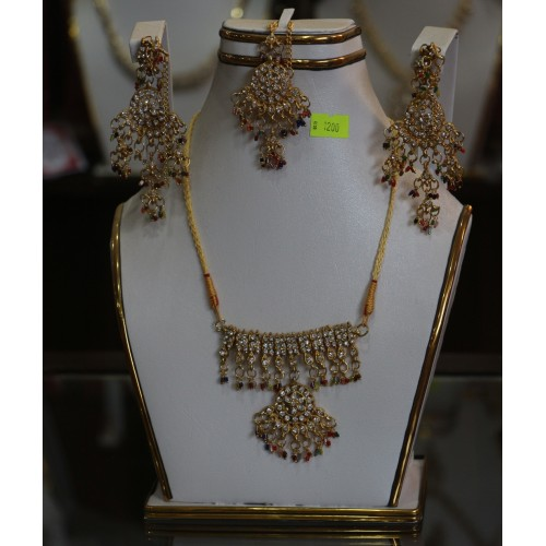 trendy traditional jewelry set 3