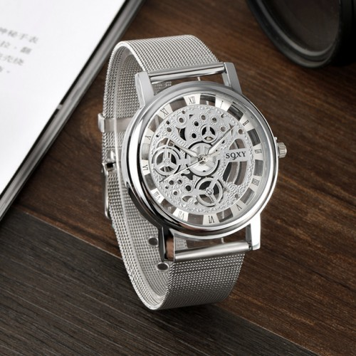 2017 Brand SOXY Wrist Watch Simple Style Mesh Belt Women Quartz Watches Fashion Hollow Designer Ladies.jpg 640x640