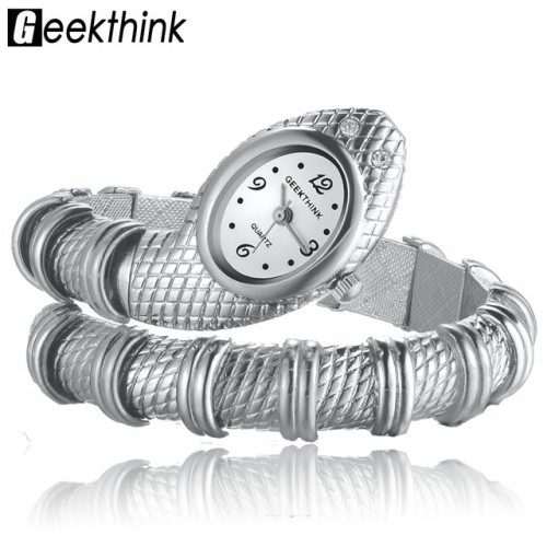 GEEKTHINK Unique Fashion Quartz Watch women Ladies Snake Shaped Bracelet Watch Bangle Diamond Ornaments Luxury Silver.jpg 640x640