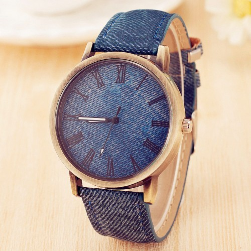 Hot Sale PU Leather Quartz Watch Women Dress Watches Men Casual Watch Rome Number Unisex Clock