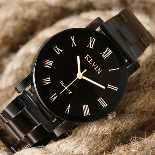 KEVIN New Arrival Fashion Black Quartz Watch Women High Quality Wrist Watches Men Gift Hour Relogio.jpg 640x640