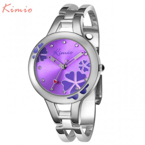 KIMIO Carving Clover Flower Womens Watches Top Brand Quartz Watch Women Dress Bracelet Watch Casual Women.jpg 640x640
