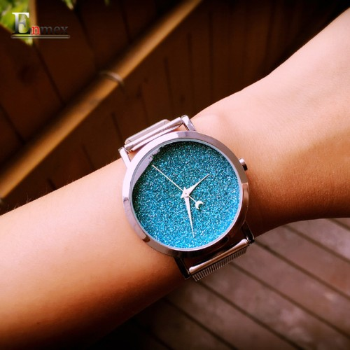 Ladies gift new style watch Enmex creative design starlight in the night sky simple face steel.jpg 640x640
