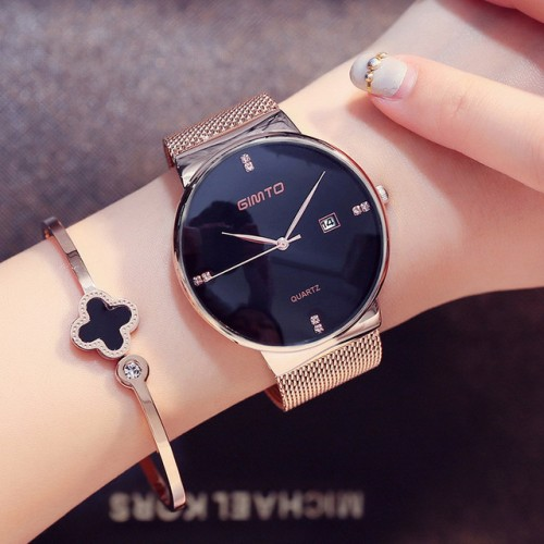 Luxury GIMTO Fashion Ladies Watches Rose Gold Women Watches Elegant Minimalism Rhinestone Casual Black Female Waterproof.jpg 640x640