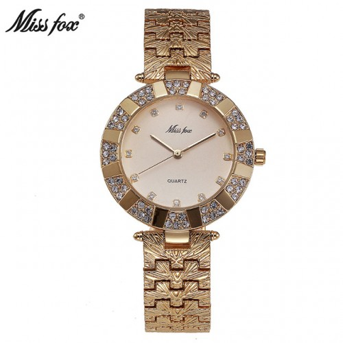 Miss Fox Women Watch Luxury Brand Fashion Casual Ladies Gold Watch Quartz Simple Clock Relogio Feminino.jpg 640x640