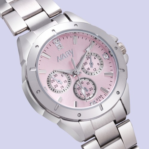 NARY watch women fashion luxury watch Reloj Mujer Stainless Steel Quality Diamond Ladies Quartz Watch Women