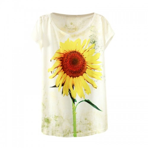 Women Fashion Half Sleeves Summer Clothes Casual T Shirts (10)