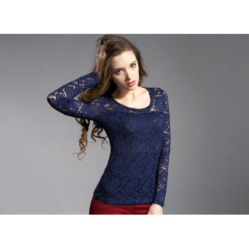 Womens Net Top in 4 Different Colors with slip