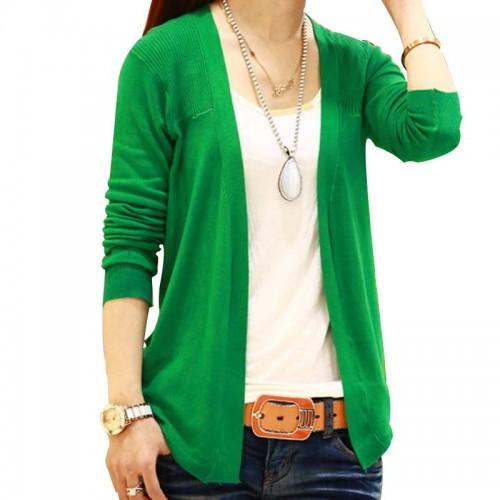 Korean Summer Women Cardigan Knitted Long Lrregular Hem Shawl Small Cardigans Sweater Tops Thin 11