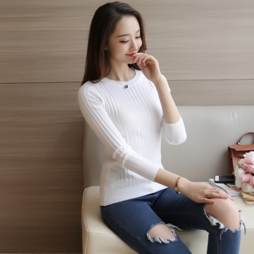 Women turtleneck sweaterCasual spring women bottoming slim warm knitted pullovers female burderry women