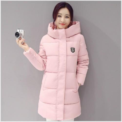 New Arrival Casual Warm Long Sleeve Ladies Basic Coat jaqueta feminina jacket women parkas cotton