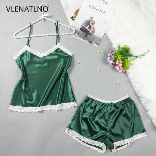 Womens Pajamas Lace Women Pajamas Set Clothing for Women Homewear Indoor Clothing Lady lovely Cute pajamas.