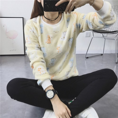 Sweater Lesser Knitted Pullovers Cartoon Printed