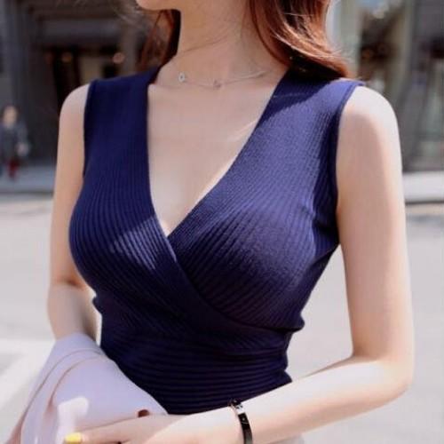 12 Colors Atacado de roupas femininaswomen sweater night club vest vest knitted deep