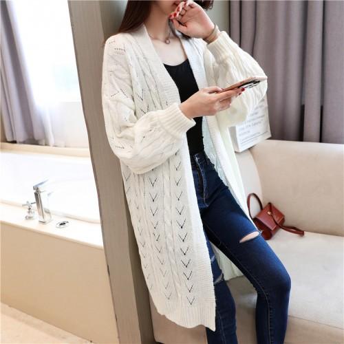 5859 Korean autumn new women s sweater cardigan