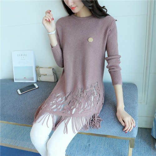 In the spring of 7236 Korean New Women s sweater 43 5 color