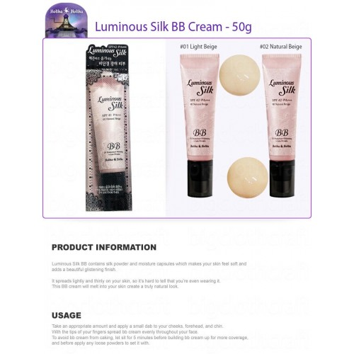 HOLIKA Luminous Silk BB Cream 50 ml
