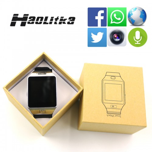 Bluetooth smart watch Android Phones with camera Pedometer