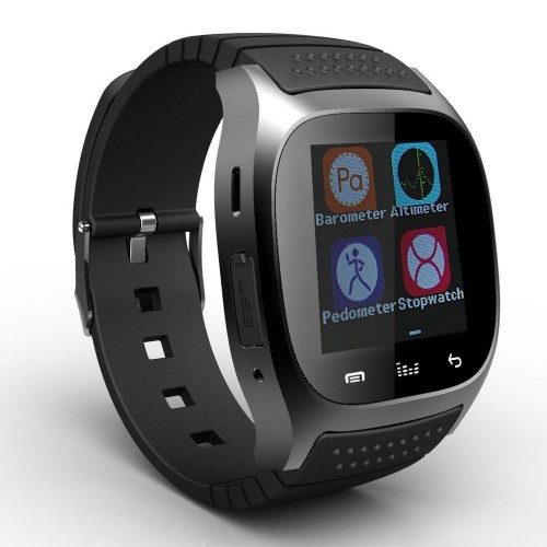Smartwatch Bluetooth Smart Watch With LED Alitmeter Music Player