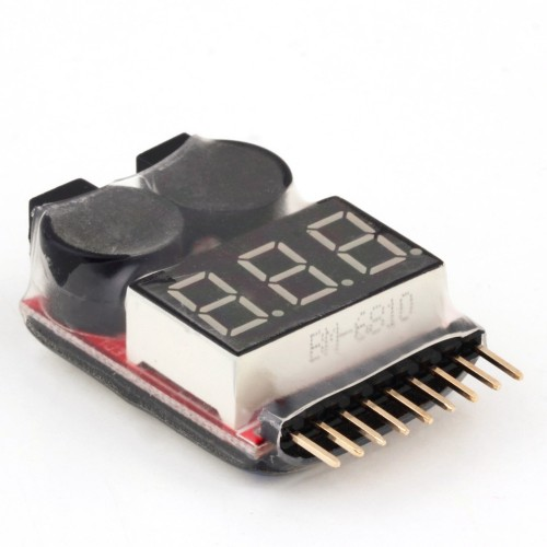 Battery Tester Low Voltage Buzzer