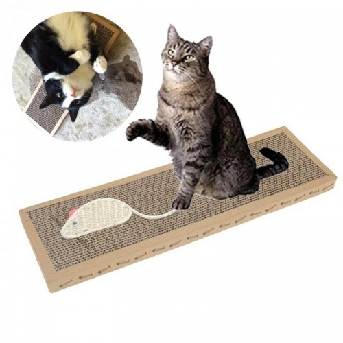 Cat Toy Mouse Pattern Cat Scratch Board