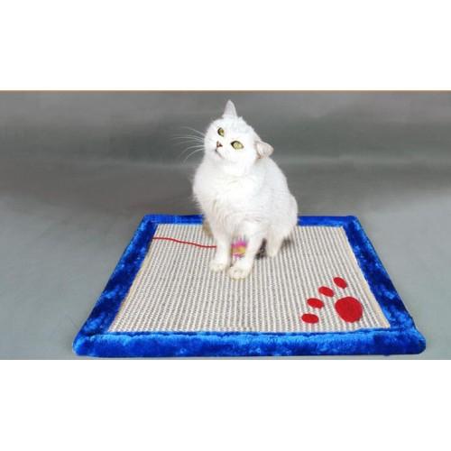 CatScratch Board with mouse toy Kitten Scratcher Mat