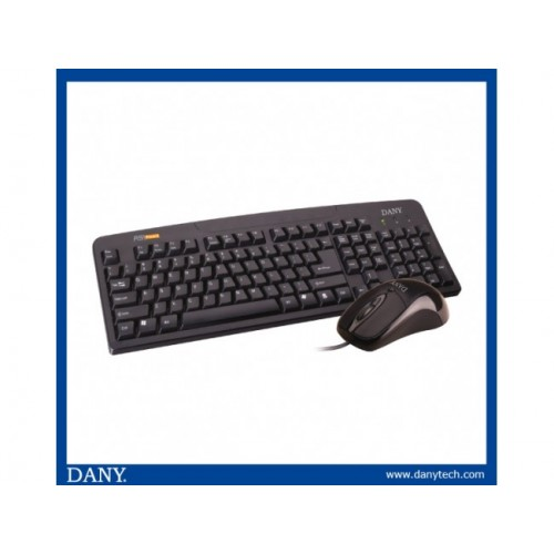 DANY KEYBOARD MOUSE SET DK 210 PS2