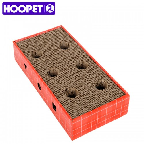 Paper With Bells Grinding Plate Sofa Pet Cat Toys