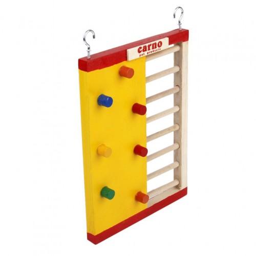 Pet Hamster Toy Wooden Climbing Ladder