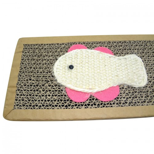 Safe Card Board Scratcher Toy