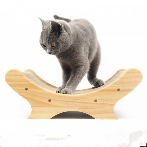 Scratch Board Pad Scratcher Bed cat safo Mat Claws Care Interactive