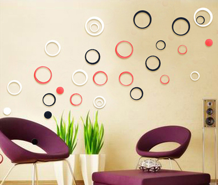 1-Set-2018-Hot-Modern-Europe-Style-New-Design-Indoors-Decoration-Circles-Stereo-
