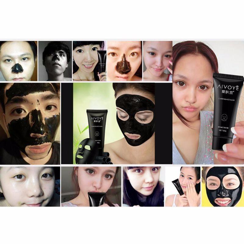 black blackhead mask instructions