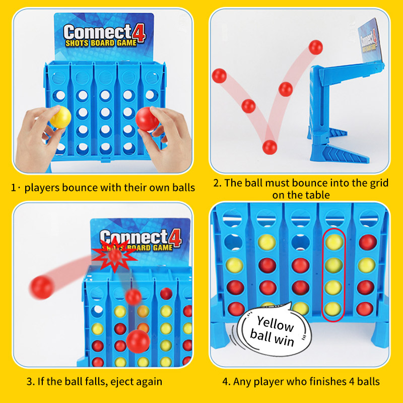 Bouncing-Linking-Shots-Connect-4-Game-1-Set-Board-Game-Entertainment-Educational-Puzzle-Toys-for-Kids-Finger-Basketball-Shooting-4000505691158