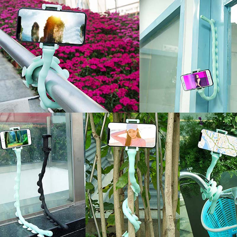 Lazy-Bracket-Mobile-Phone-Stents-Cute-Worm-Suction-Cup-Support-Wall-Desktop-Portable-Holder-GK99-4001016101452
