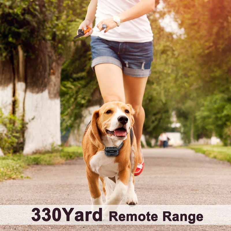 PET619S-Pet-Dog-Training-Collar-Remote-Control-330-Yards-Rechargeable-Waterproof-Vibration-Electric-Shock-Tone-For-1-or-2-Dogs-32849123416