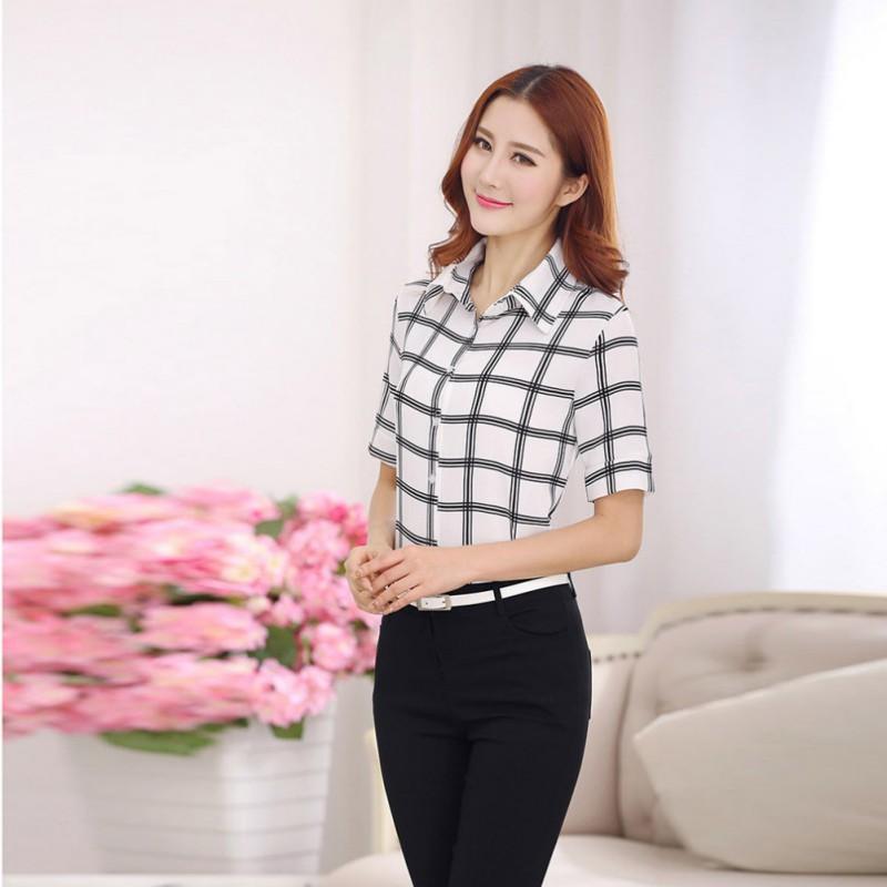 Wonderful About Womens Chiffon Seethrough Pockets Shirt Tops Buttondown Blouse