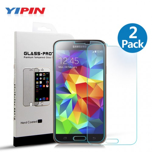 Yipin S5 Premium Screen Protector Tempered Glass for Samsung Galaxy S5 i9600 9H 2 5D 0.jpg 640x640