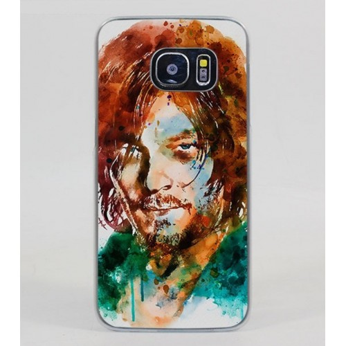 Printed Plastic Fitted Back Case Cover For S6 Edge, S6